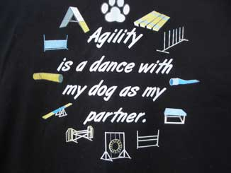 Agility Dance Black Shirt