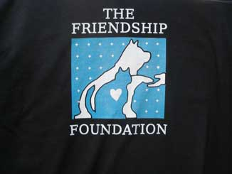 Friendship Foundation Black Shirt Example
